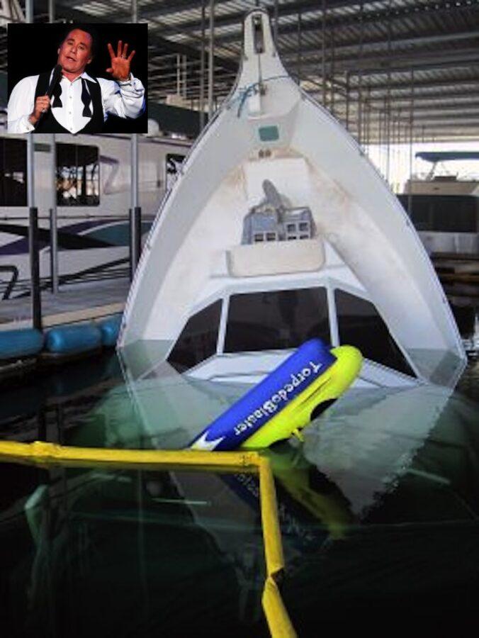 Wayne Newton-Yacht AP