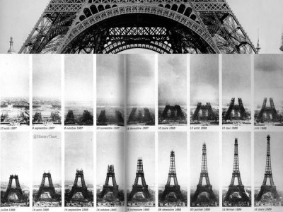 When Did The Eiffel Tower Open 6