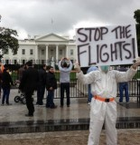White House Protest Happening NOW Over Ebola Travel Ban 155x160 After Hundreds Of Millions Of Dollars, U.S. Has Treated 28 Ebola Cases In Liberia