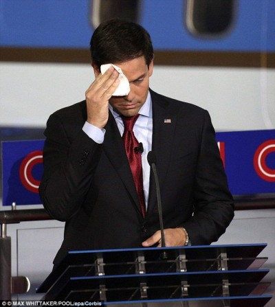 Why does Marco Rubio Sweat So Much