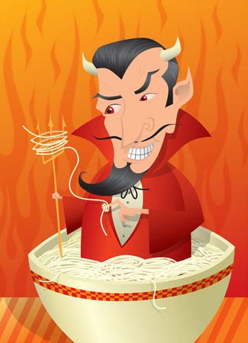 devil with pasta-3