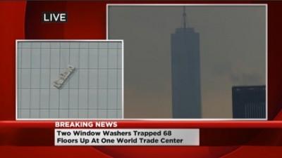 Window Washer STUCK 68 Floors Up WORLD TRADE CENTER 2