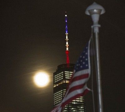 World Trade Center Honors Brussels With WRONG COLOR