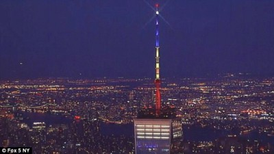 World Trade Center Honors Brussels With WRONG COLORS