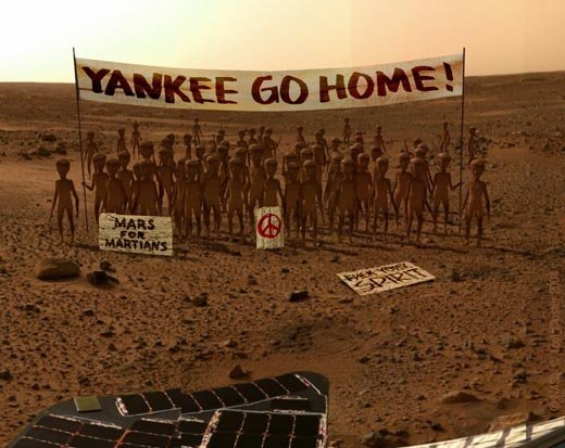 First Pictures From MARS WOW!