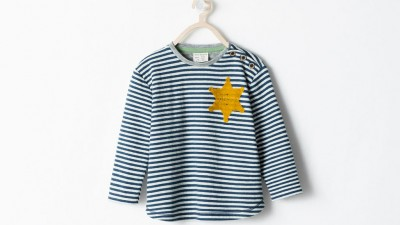 Zara- Holocaust concentration camp uniform shirt