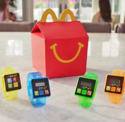 activity Trackers happy meal