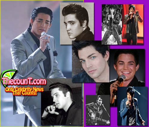 adam lambert01 Is Adam Lambert Really Elvis Presley Reincarnated?