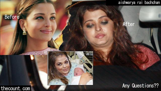 aishwarya rai bachchan is fat
