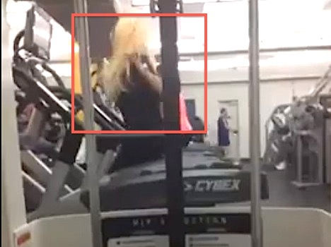 amanda 1 11 Second Video Of Amanda Bynes Crazily Working Out