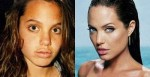 angelina jolie youth 150x77 Awesome Celebrity Youth Pictures