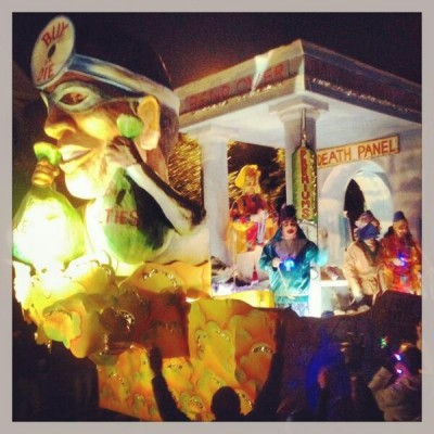 anti obamacare Mardi Gras Floats Spotted in New Orleans 3
