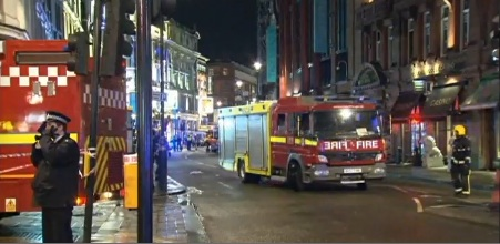 apollo theater BREAKING NEWS: 65 People INJURED After LONDON Apollo Theatre Balcony Collapses