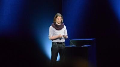 apple SCARF GUY keynote
