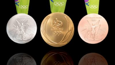 are olympics gold medals made of gold