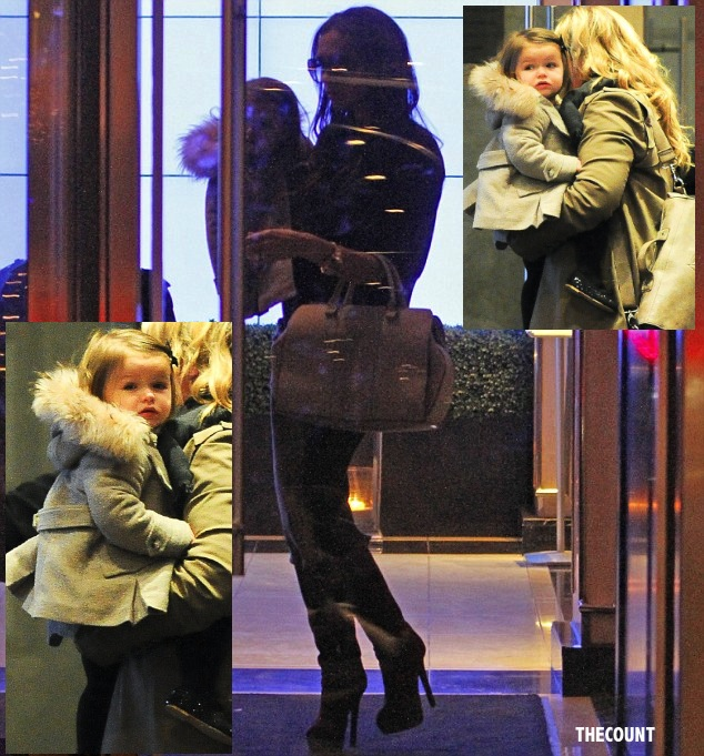 article 0 167C6DD4000005DC 345 634x681 POSH? Victoria Beckham Dresses Baby Like IKEA MONKEY Only In REAL FUR!