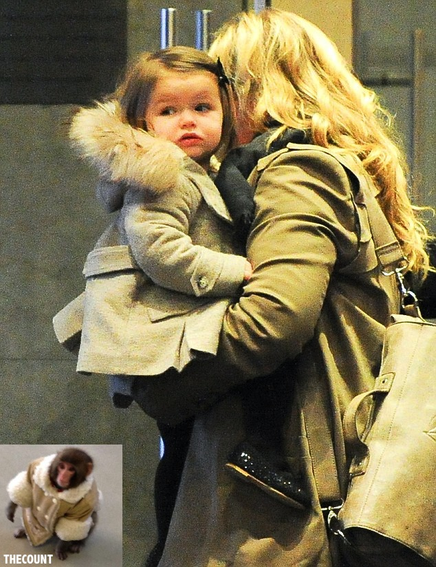 article 0 167C6E7E000005DC 27 634x824 POSH? Victoria Beckham Dresses Baby Like IKEA MONKEY Only In REAL FUR!