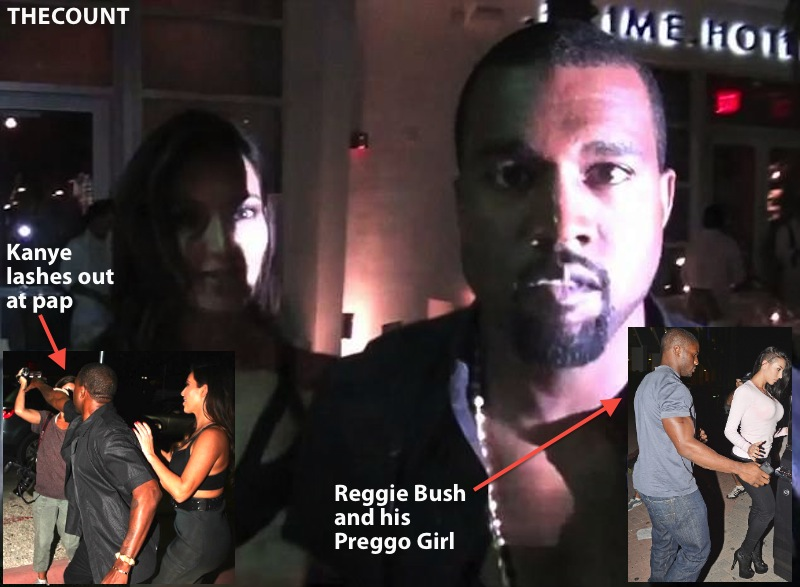 article 2218013 1582E92E000005DC 627 634x4651 Kanye West LOSES IT! After Reggie Bush Crashes Kim K Date Night