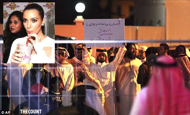 article 2241568 164E2F67000005DC 295 634x383 Teargas Opens Kim Kardashian Millions of Milkshakes In KUWAIT