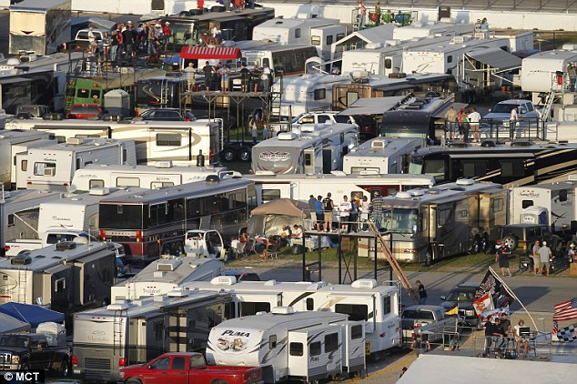 Nascar suffers infield suicide for Camping at texas motor speedway