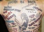bad band tattoos