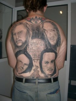 bad band tattoos 3 People Who Dared To Tattoo Music Stars On Their Bodies