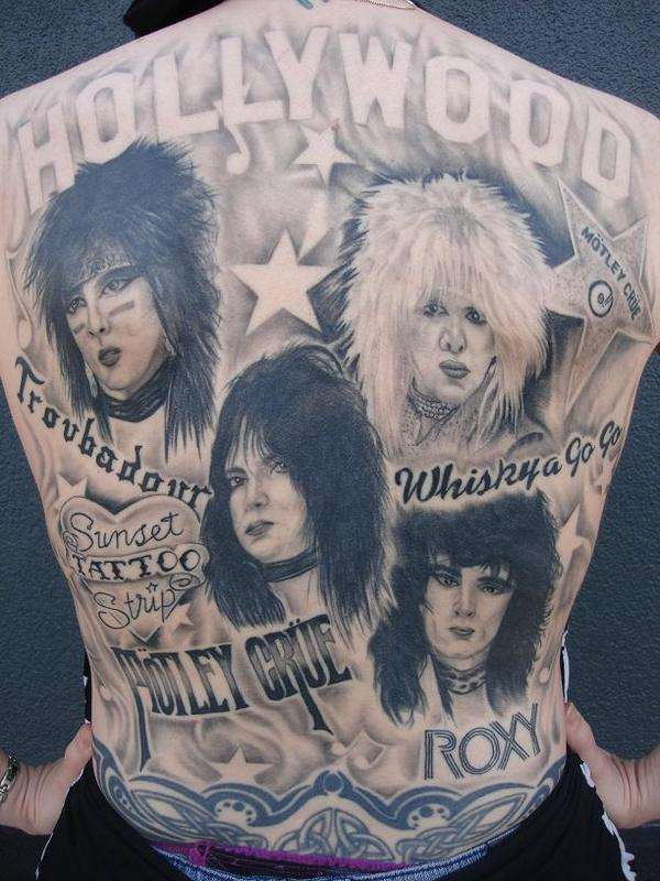 People Who Dared To Tattoo Music Stars On Their Bodies