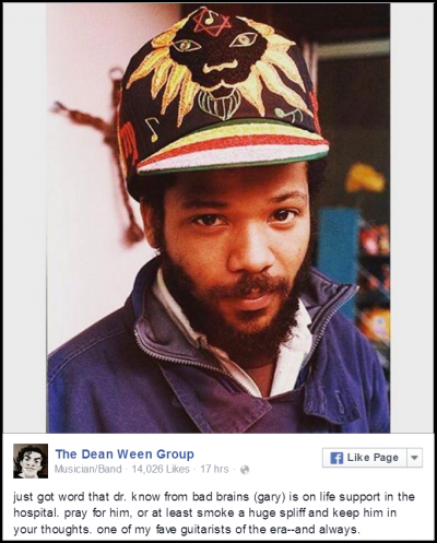 What is wrong with Dr. Know of Bad Brains?