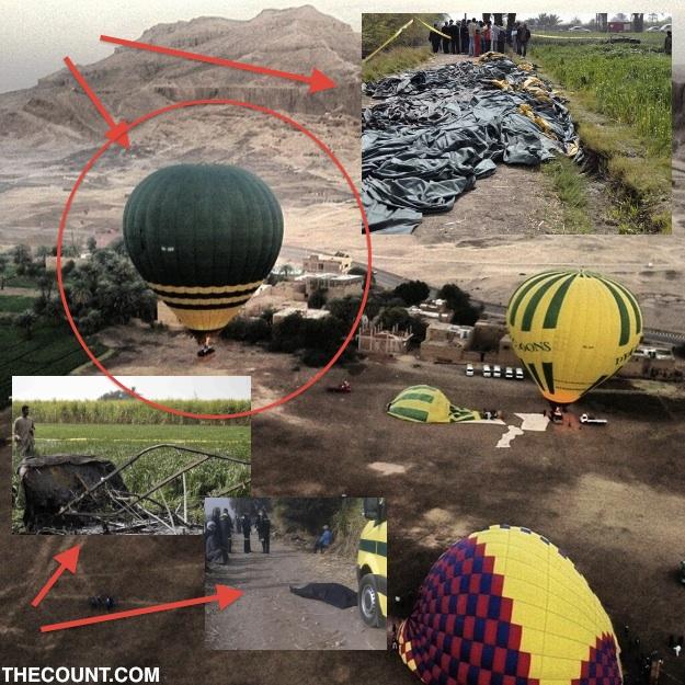 balloon accident Hot Air Horror Kills 18 As Balloon Explodes 1000 Feet Above Valley