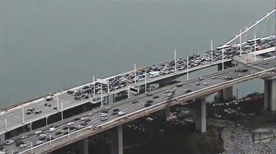 bay bridge protest san fran MLK