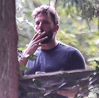 ben affleck smoking
