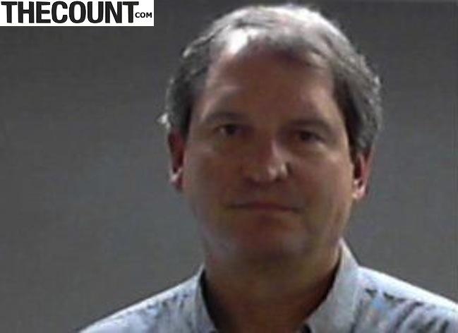 bernie kosar mugshot 1 QB Bernie Kosar Arrested DUI MUG SHOT