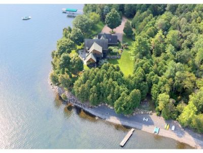 bernie sanders Lake Champlain summer home