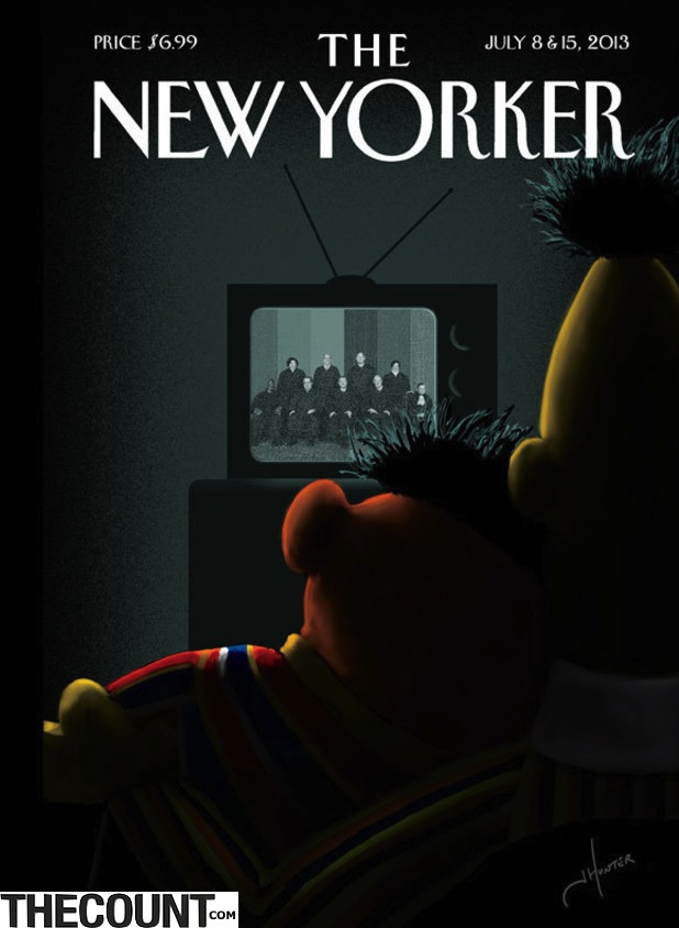 bert and ernie the new yorker
