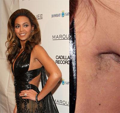 Beyonce S Hairy Armpits 99