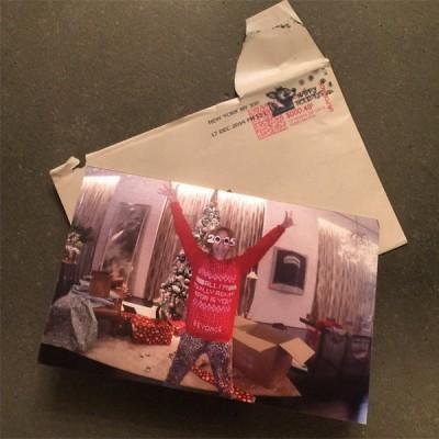 beyonce leaked christmas card 2
