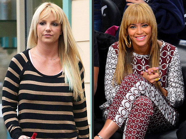 Britney Spears and Beyonce are the same age, 32.