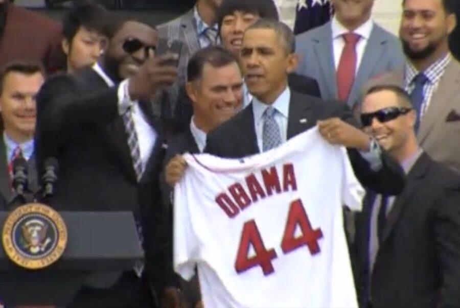 big Papi obama selfie