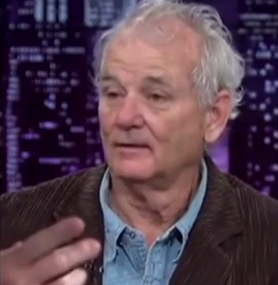 bill Murray drunk msnbc 2 Bill Murray Falling Down Drunk On MSNBC [VIDEO]