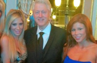bill clinton girlfriends