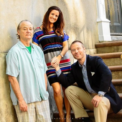 bill-murray Erik Rogers and Ashley Donald