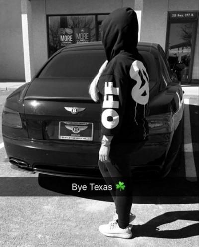 blac chyna rob kardashian texas trip