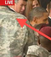 blocking obama Huge Marine Spoils Live CNN Broadcast