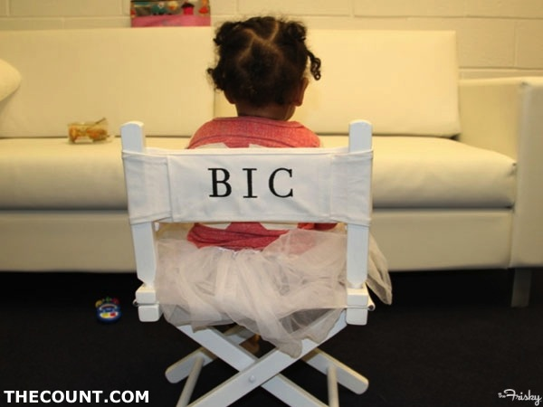 blue ivy carter braids 600x4502 Blue Ivy Get Her First Braids!