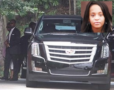 bobbi kristina wake2 400x317 Bobbi Kristina Really Died In January, Her Body Lived Until They Said So..