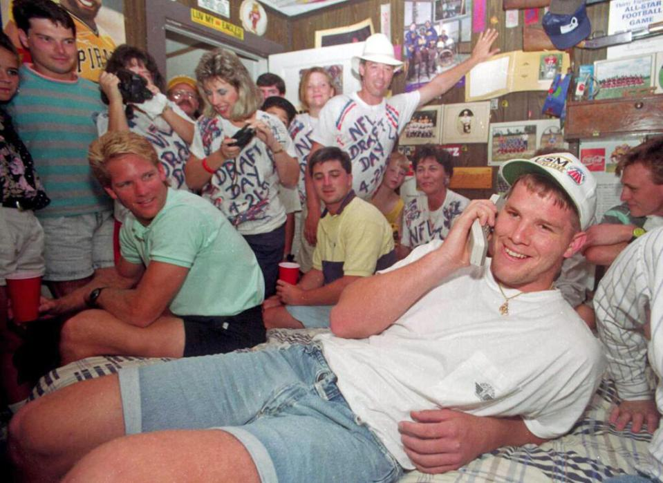 breat favre 1991 draft