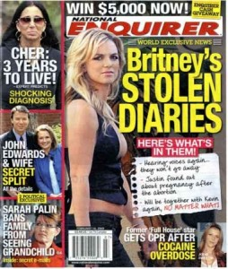 britenq 254x300 Britney Stolen Diaries: Inside National Enquirer Story