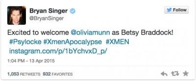 bryan singer X-Men-Apocalypse-Psylocke-Actress