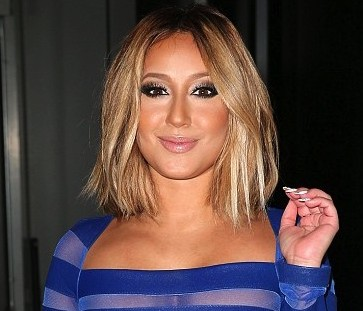 c section Adrienne Bailon