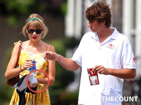 c280d54cca9cf63325b4373addbb6e3f TORN: Taylor Swift Still Wears Jake Gyllenhaal Bracelet   Sorry Conor Kennedy